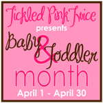 Don't Forget April is Baby/Toddler Month